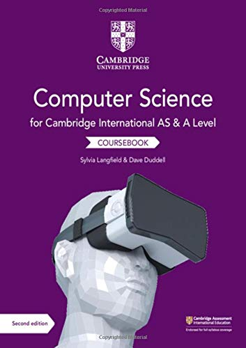 Cambridge International AS and A Level Computer Science Coursebook from Cambridge University Press