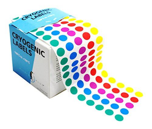 Camlab Plastics RTP/180 Tubee's Dots, 9.5 mm Diameter, Reel, Micryo Coloured (Pack of 5000) from Camlab Plastics