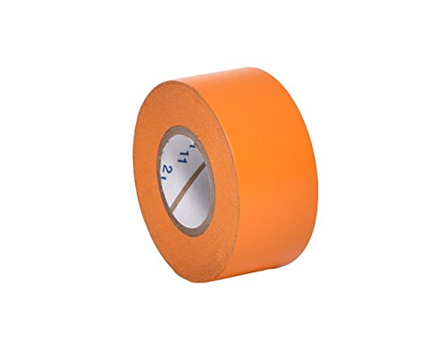 "Camlab 1151370 Labelling Tape, 1"" Wide, 500"" (12.7 m) Long, Orange from Camlab"