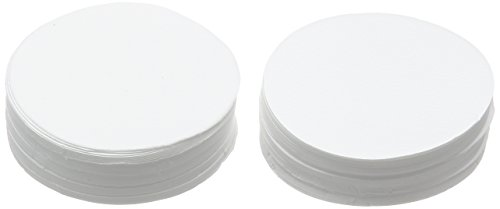 Camlab 1171207 Grade 259 [Gf/A] Glass Microfiber Filter, 1.6µm, 60 mm Diameter (Pack of 100) from Camlab