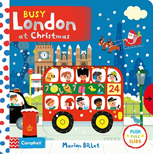 Busy London at Christmas (Busy Books) from Pan Macmillan