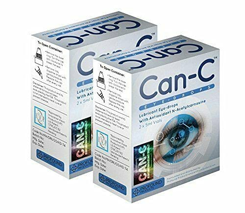 CAN-C Eye Drops 2x 5ml Vials - 3 PACK from Can-C