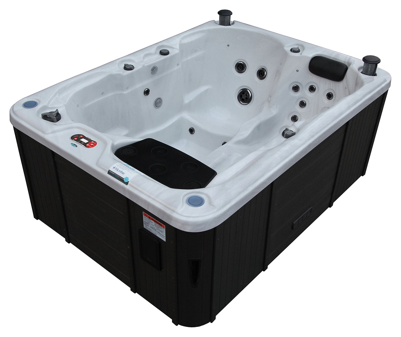 Canadian Spa Co. Quebec Plug & Play 29 Jet 3 Person Hot Tub. from Canadian Spa Company