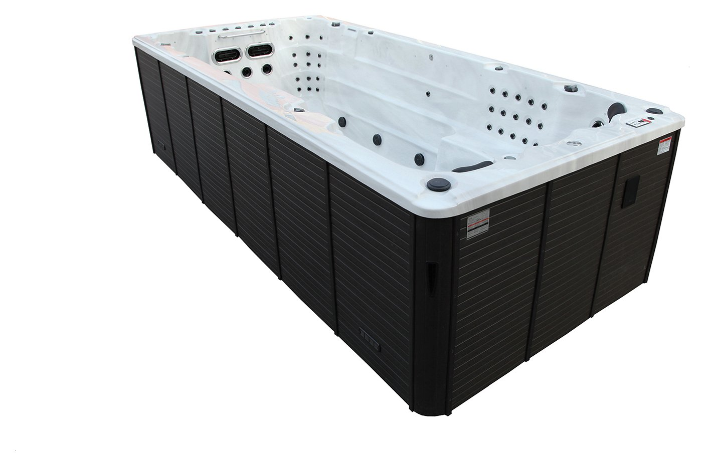 Canadian Spa Co. St Lawrence Deluxe 16ft 71 Jet Swim Hot Tub from Canadian Spa Company