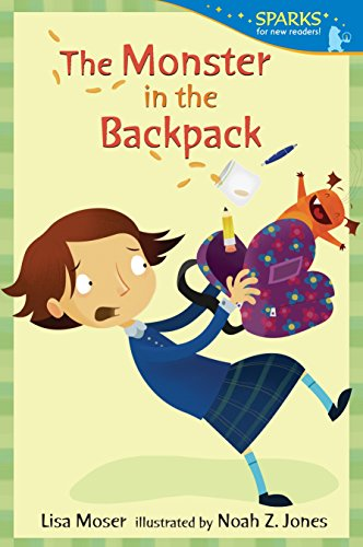 The Monster in the Backpack (Candlewick Sparks (Quality)) from Candlewick Press (MA)