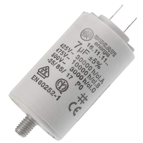416171164 Demarrage Capacitor 7uf 450 V 6.3 mm for Candy Laundry from CANDY