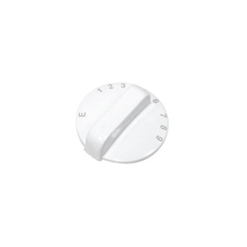 Cannon Oven White Oven Control Knob. Genuine Part Number C00237727 from Canon