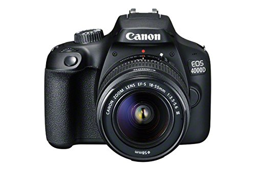 Canon EOS 4000D DSLR Camera and EF-S 18-55 mm f/3.5-5.6 III Lens - Black from Canon