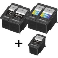 Compatible Multipack Canon Pixma MX515 Printer Ink Cartridges (5 Pack) -CA-3R-540XL-541XL_12220 from Printerinks