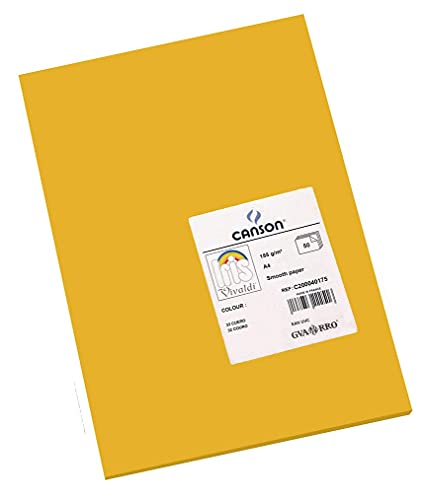 Canson Iris Vivaldi A4 185 GSM Smooth Colour Paper - Leather (Pack of 50 Sheets) from Canson