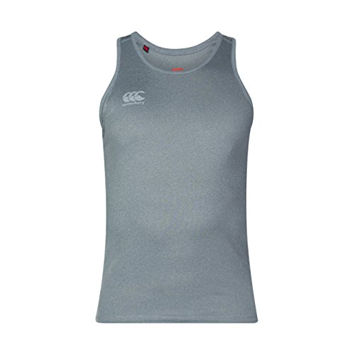 Canterbury Men's Core Vapodri Singlet Training Vest, Static Marl, X-Large from Canterbury