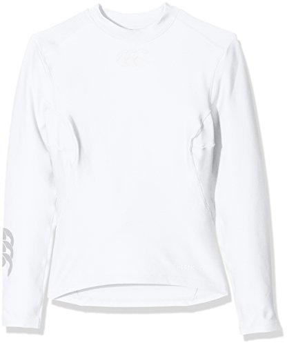 Canterbury Kids' Thermoreg Baselayer Long Sleeve Top - White, Small from Canterbury