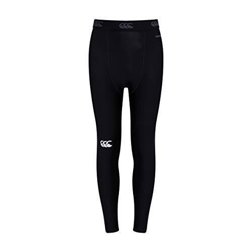 Canterbury Kids' Thermoreg Base Layer Leggings - Black, Small from Canterbury