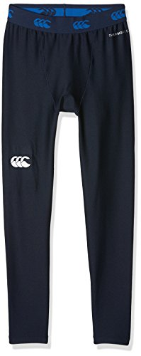 Canterbury Kids' Thermoreg Base Layer Leggings - Navy, Large from Canterbury