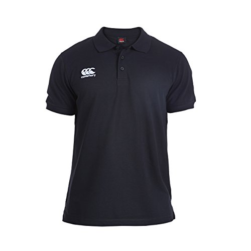 Canterbury Men's Waimak Polo T-Shirt, Black, Small from Canterbury