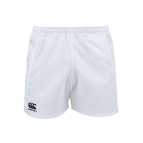 Canterbury Men's Advantage Rugby Shorts, White, Large from Canterbury