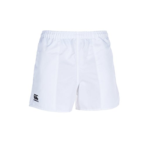 Canterbury Men's Professional Polyester Rugby Shorts, White, 4XL from Canterbury