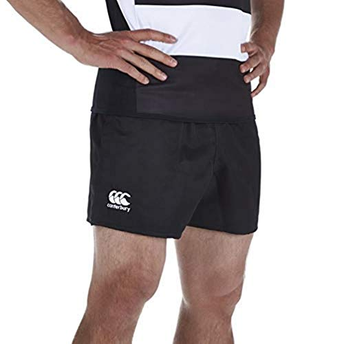 Canterbury Men's Professional Polyester Shorts - Black, Small from Canterbury