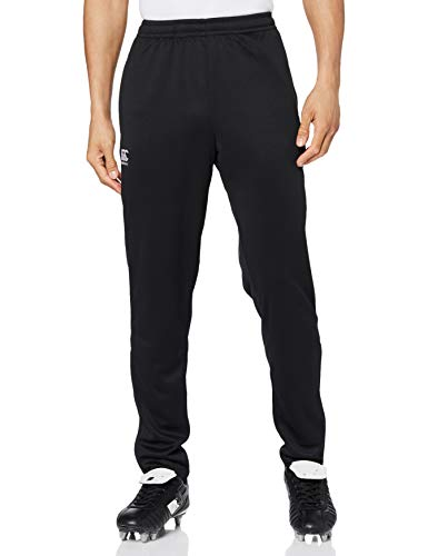 Canterbury Men's Stretch Tapered Poly Knit Pants, Black, Large from Canterbury