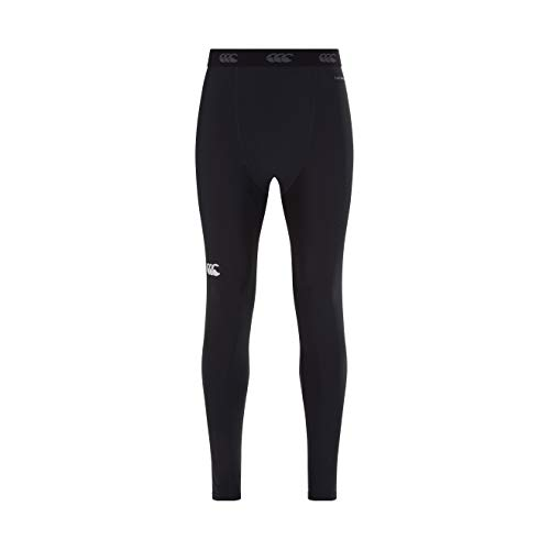 Canterbury Of New Zealand Men's Thermoreg Base Layer Leggings, Black, 4X-Large from Canterbury