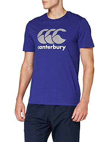 Canterbury Men's CCC Logo Training T-Shirt, Royal, Large from Canterbury