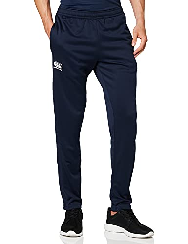 Canterbury Men's Stretch Tapered Poly Knit Pants, Navy, 2X-Large from Canterbury