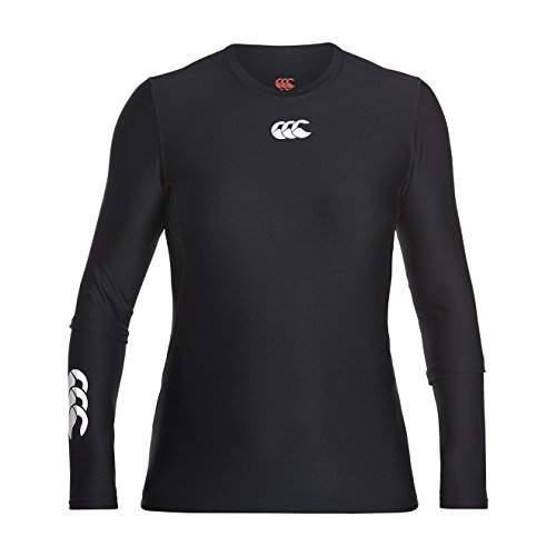 Canterbury Women's's Thermoreg Baselayer Long Sleeve Top - Black, 2X-Large from Canterbury