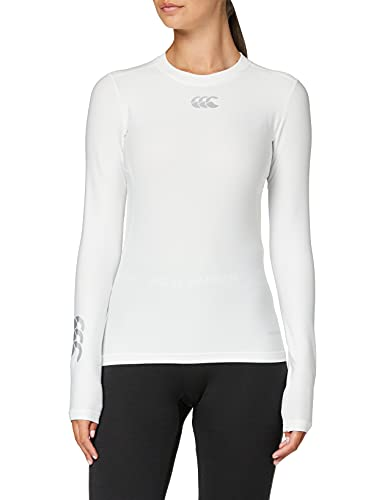 Canterbury Women's's Thermoreg Baselayer Long Sleeve Top - White, 2X-Large from Canterbury