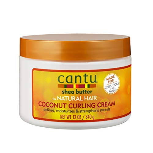 Cantu Shea Butter for Natural Hair Coconut Curling Cream 340 g from Cantu