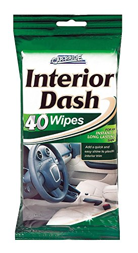 Interior Clean & Shine Wipes - 40 Wipes from Car Pride