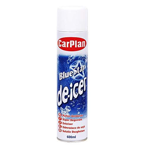 Carplan Bluestar Super Deicer Aerosol 600ml from Carplan