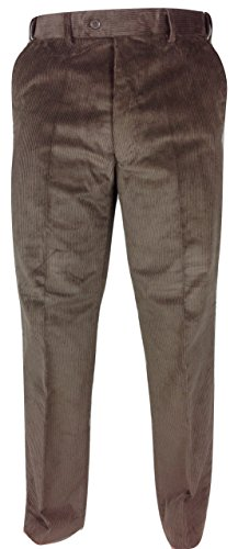 1d149a794337 Mens Thick Corduroy Trousers By Carabou Waist 32 - 56 Leg 27 29 31 33 Poly.  found at Amazon Marketplace