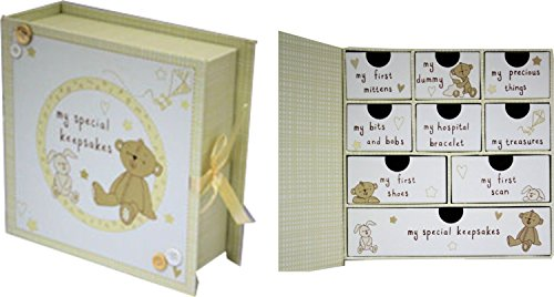 Baby Box for Keepsakes and Memories from Card and Party Store