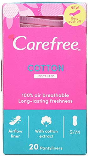 Carefree Panty Liners Folded Breathable 20 from Carefree