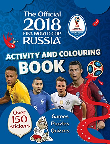 2018 FIFA World Cup Russia Activity and Colouring Book (World Cup Russia 2018) from Carlton Kids