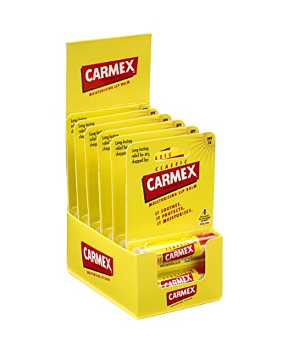 Carmex Classic Click Stick 4.25 g (Pack of 12) from Carmex