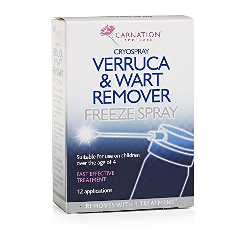 CARNATION Verruca and Wart Remover Freeze Spray, 50 ml from Carnation