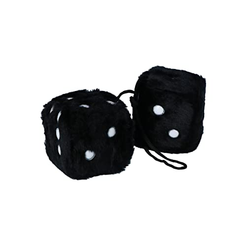 Carpoint 0510080 Fuzzy dice black from Carpoint