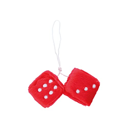 Carpoint CPT0510079 Fuzzy Dice, Red from Carpoint