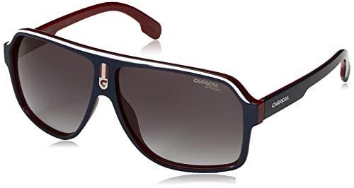 Carrera Unisex-Adult's 1001/S 9O Sunglasses, Blue Redwhte, 62 from Carrera