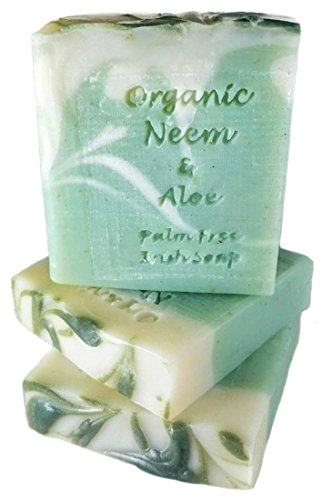 Palm Free Organic Neem Oil & Aloe Vera Soap Bar – Handcrafted in Ireland from Carrolls Irish Gifts