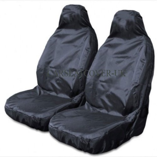 Carseatcover-UK BLKWPSPFP920 Car Seat Covers, Heavy Duty, Waterproof, Black from Carseatcover-UK