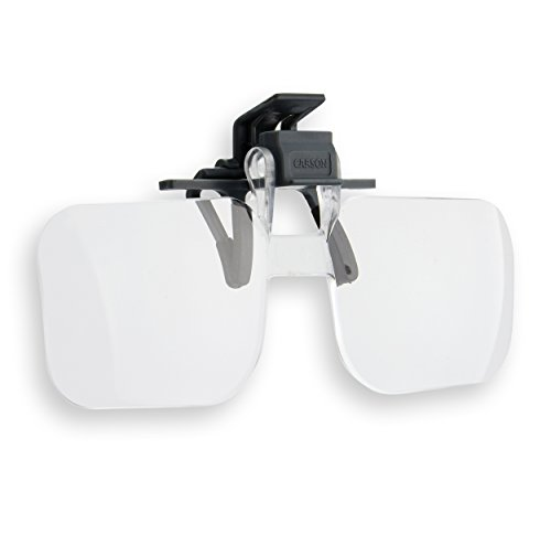 Carson Clip and Flip Hands-Free 1.75x (+3.00) Magnifying Lenses from Carson