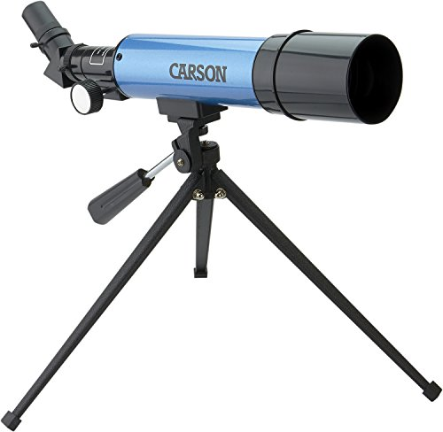 Carson 20-80x50 Aim Table Top Tripod Refractor Telescope from Carson