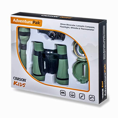 Carson AdventurePak Featuring 30mm Binoculars and Outdoor Accessories from Carson