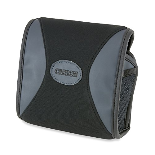 Carson BinoArmor Deluxe Silent Neoprene Case for Binoculars - Fits Most 42mm Models from Carson