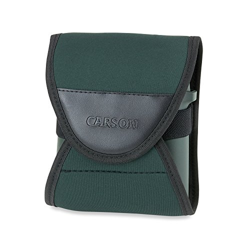 Carson BinoArmor Silent Neoprene Wrap for Binoculars - Fits Most 42mm Models from Carson