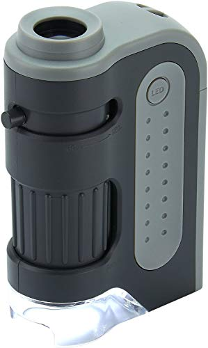 Carson MicroBrite Plus 60 -120x LED Lighted Pocket Microscope from Carson