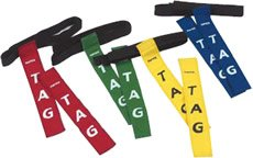 Carta Sports Rugby Sports Tag Belt, One Size, Various Colours - Yellow from Carta Sport