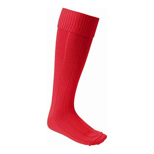 Cartasport Kid's Football Socks, Red, Medium 3-6.5 from Carta Sport